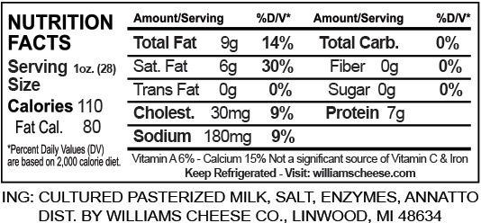 colby-nutrition-facts